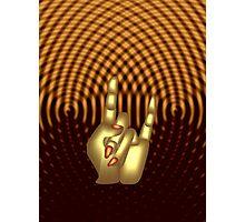 Magic hand Photographic Print