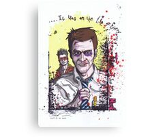 Fight Club #3 Tyler and I just gave it a name Canvas Print
