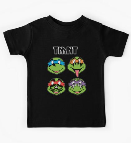 TMNT and KISS crossover Kids Tee