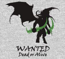 Wanted Illidan Stormrage | Unisex T-Shirt