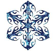Frozen Snowflake Photographic Print
