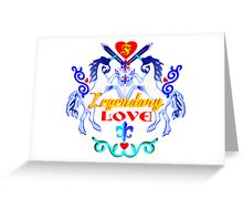 ۞»♥Unicorns: Legendary Love Prints, Cards & Posters♥«۞ Greeting Card