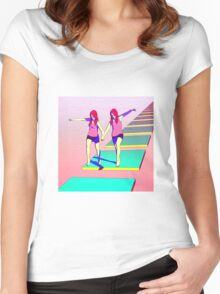 Chronological Order Women's Fitted Scoop T-Shirt