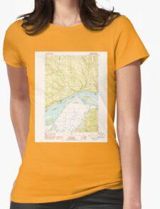 USGS Topo Map Washington State WA Oak Point 242887 1985 24000 T-Shirt