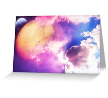 Planets Greeting Card