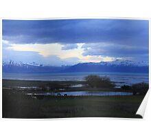 Lake of Patagonia Poster