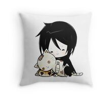 Black Butler - Sebastian Michaelis Throw Pillow