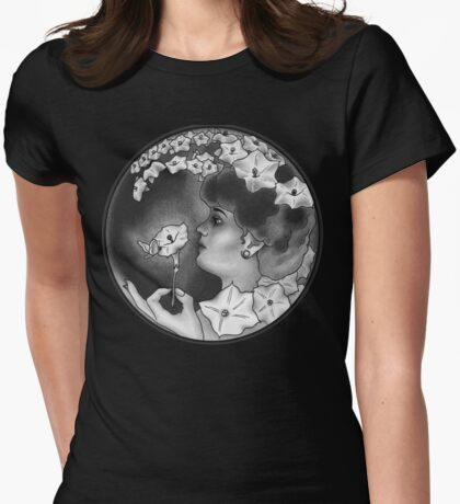 Woman in the Moon Womens Fitted T-Shirt