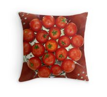Draining the Red Away Throw Pillow