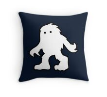 the Yeti - Design by NoirGraphic. Throw Pillow