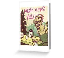Billy-Bob wishes you a Happy Xmas Greeting Card