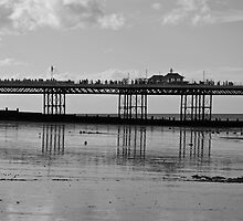 Pier Reflections by James Taylor