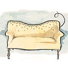 Glitter Couch by rishann