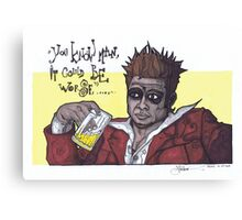 Fight Club #4 It Could Be Worse... Canvas Print