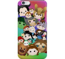 Tsum Tsum rainbow fun iPhone Case/Skin