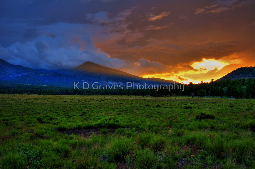 A Stormy Day's End by K D Graves Photography