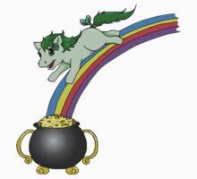 St Patrick's Prancing Pony by hybridwing