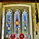 The Burma Star Memorial Window. by Lilian Marshall