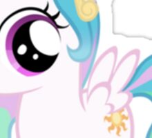 Filly Celestia  Sticker