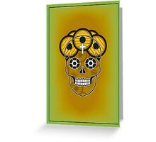 Santa Muerte/Day of the Dead Greeting Card