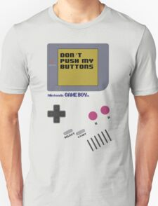 Nintendo - Don't Push My Buttons (Original Gameboy) T-Shirt