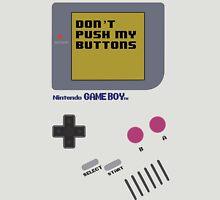 Nintendo - Don't Push My Buttons (Original Gameboy) Unisex T-Shirt