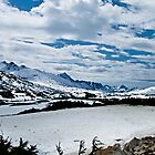 Summit Lake in Winter by Yukondick