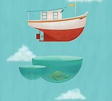 Floating Boat by erdavid
