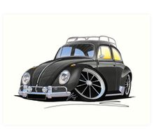 VW Beetle (Custom H) Art Print