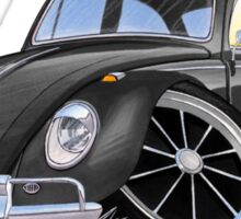 VW Beetle (Custom H) Sticker