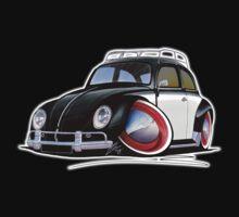 VW Beetle (Custom I) Kids Tee