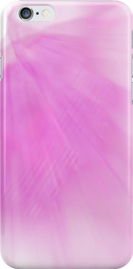 Gently Fading Pink iphone case by Corri Gryting Gutzman