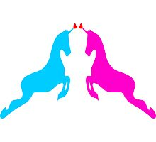۞»♥Unicorns: Legendary Love Prints, Cards & Posters♥«۞ Photographic Print
