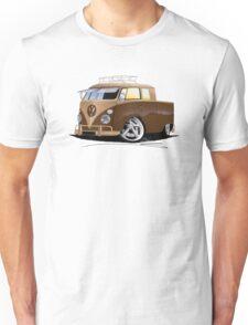 VW Splitty Crew Cab Pick-Up (B) Unisex T-Shirt