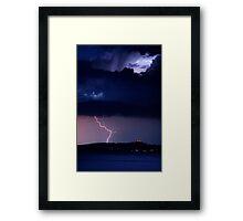 Zeus' Thunderbolts, Peloponnese, Greece Framed Print