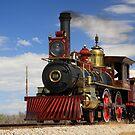"""Steam locomotives """"119"""" by Gene Praag"""