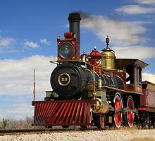 "Steam locomotives ""119"" by Gene Praag"