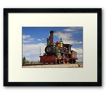 "Steam locomotives ""119"" Framed Print"