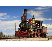 "Steam locomotives ""119"" Photographic Print"