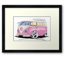 VW Splitty (11 Window) G Framed Print