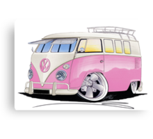 VW Splitty (11 Window) G Canvas Print