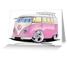 VW Splitty (11 Window) G Greeting Card