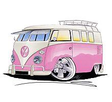 VW Splitty (11 Window) G Photographic Print