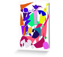 Contemporary Device Electricity Nature Elements Greeting Card