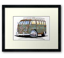 VW Splitty (23 Window) D Framed Print
