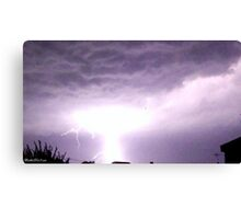 Lightning 2012 Collection 1 Canvas Print