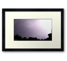 Lightning 2012 Collection 5 Framed Print