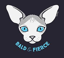 Sphynx Cat - Bald & Fierce by zoel