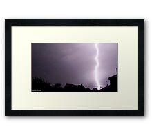 Lightning 2012 Collection 8 Framed Print