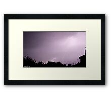 Lightning 2012 Collection 10 Framed Print